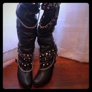 Zigi soho knee high boots